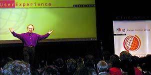 Jakob Nielsen speaks in Chicago
