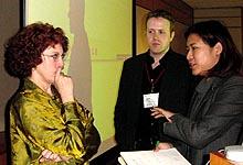 Brenda Laurel considers a question from Yan Sham-Shakleton