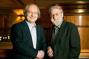 Photograph of Jakob Nielsen and Donald A. Norman