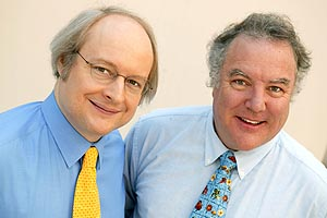 "Photograph of Jakob Nielsen  and Bruce ""Tog"" Tognazzini"