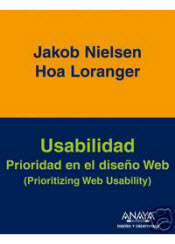 Book cover of the Spanish Translation of Prioritizing Web Usability