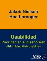 Usabilidad: Prioridad en el diseño Web - Spanish Book Cover