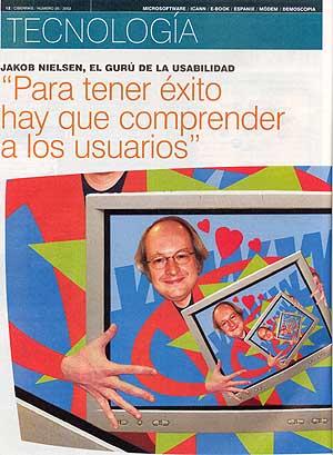 Ciberpais Magazine, Spain