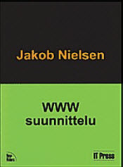 Book cover of the Finnish translation of Designing Web Usability