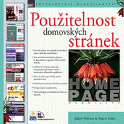 Book cover of Czech translation of Homepage usability