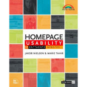 Book cover of German Translation of Homepage usability