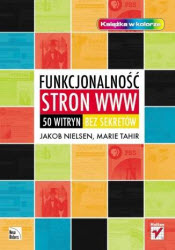 Book cover of Polish translation of Homepage Usability