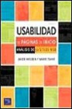 Book cover of Spanish translation of Homepage Usability
